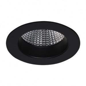 EF80-E | LED COB | Preto