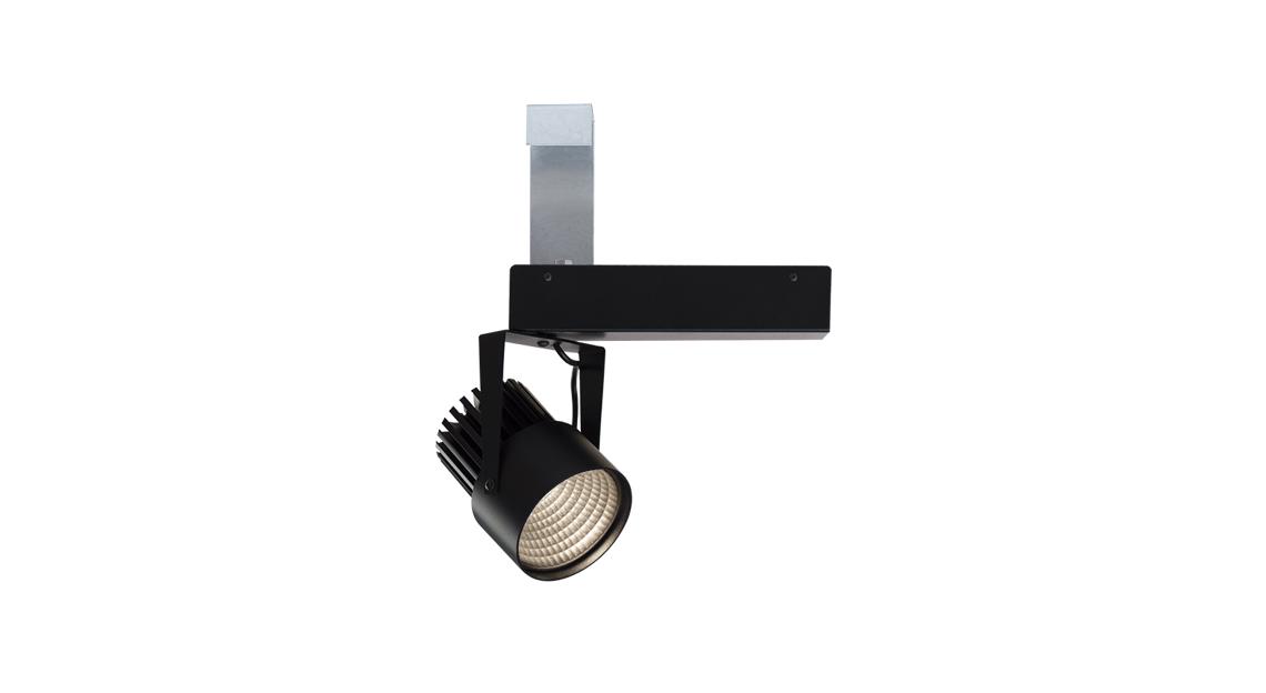 SR21-G | LED COB | Preto | Perfilado