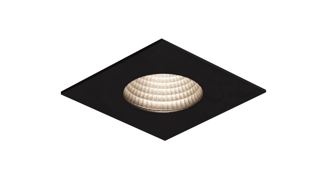 EF86-E | LED COB | Preto